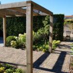 een tuin in tuinonderhoud door van dijk groenvoorzieningen