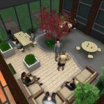 3d tuinontwerp patio